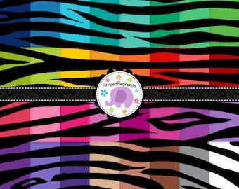 Zebra Digital Papers Black, Animal Print Digital Scrapbook Paper, Zebra Digital Background, Instant Download, Commercial Use
