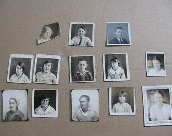 antique school photographs lot