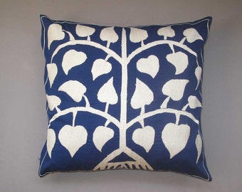 "Stylish pillow for a  modern interior  uzbek silk  Samarkand designe  exotic 18""5X18""5 inch"