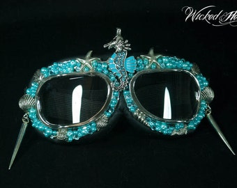 Mermaid Goggles ~ MADE TO ORDER