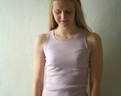 Tank top available in various pastel colors - mint,peach,pink,lilac...