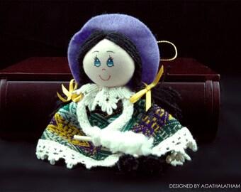 Peruvian decoration peruvian doll for you!