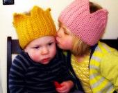 Baby Toddler Child Crown Earwarmer Knit Crown