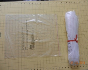 """100 15"""" x 17"""" Large Flat Poly Bags, Self-seal, Resealable, Suffocation Warning Plastic Bags  1.5 mil Polybag Garment Bags"""