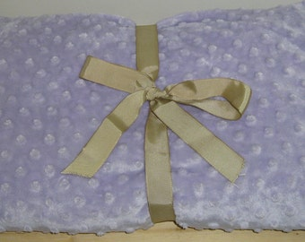 """WASHABLE Herbal Blanket 44""""x18"""" Microwave Heating Pad Heated Spa Blanket Large Heat Pack Therapy Rice Bag Hot Cold Body Wrap UNSCENTED Minky"""