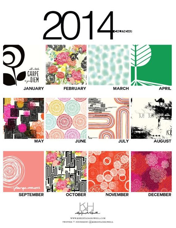 https://www.etsy.com/listing/161671688/2014-multi-print-loose-wall-calendar