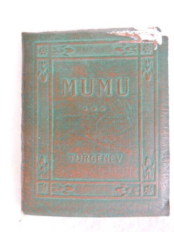 Vintage Book.. Little Leather Library... MUMU BY TURGENEV