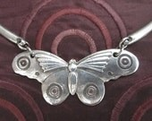 Butterfly Moth art deco necklace from an original design by Liza Paizis
