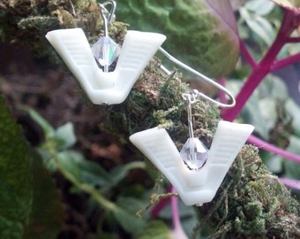 Stargate GLOW in the DARK Chevron Earrings
