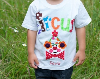 EXCLUSIVE Circus Clown T Shirt for Children by Bubblebabys