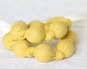 Nursing Beads in Sunshine Yellow