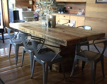 Popular items for rustic dining table on Etsy