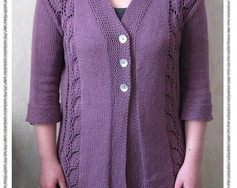 PATTERN Birch Cardigan