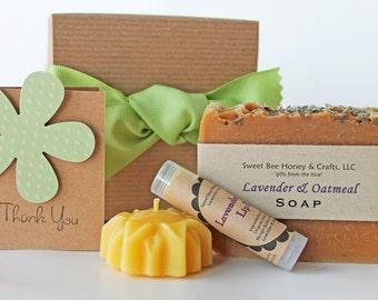 Bee Joyful Gift Set - Your Choice - Thank You Gift, Hostess Gift, Appreciation Gift, Teacher Gift