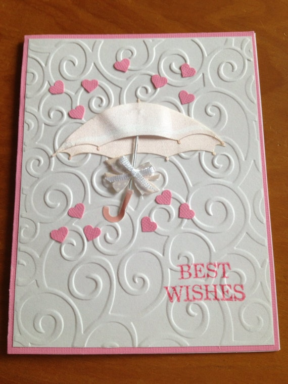 Bridal Shower Card By DaisyCreationsbyJess On Etsy