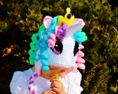 Princess Celestial Hat, Princess Celestia Hat, My Little Pony hat,  Pony Celestia Hat, Unicorn Hat, Unique Birthday gift, Shower Gift, Hat