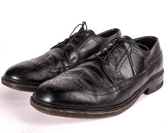 Wingtip Shoes Mens Size 9 .5 EEE Wide