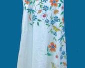 Ladies Butterfly Garden Spaghetti-Strap Dress