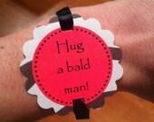 Bachelorette Party Game Bracelets - Zebra Print Decorations - set of 12 - customizable for Birthdays