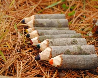 Tree Branch Crayons