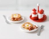 Playscale Miniature Valentine Breakfast