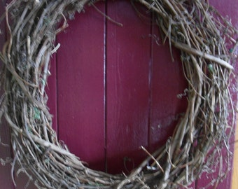 """24"""" Grapevine Wreath Round Grapevine Outdoor Wreath Indoor Wreath Supplies"""