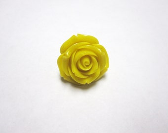 Yellow Rose Ring Adjustable