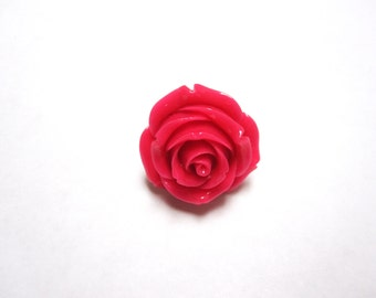 Pink Rose Ring Adjustable