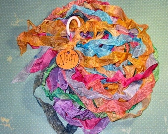 Hand Dyed Ribbon - Ribbon Rainbow No.47