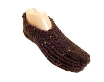 Knit slippers for men, Travel  Slipper Socks,