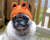 What does the Fox say?  Dog Hat / Made to Order
