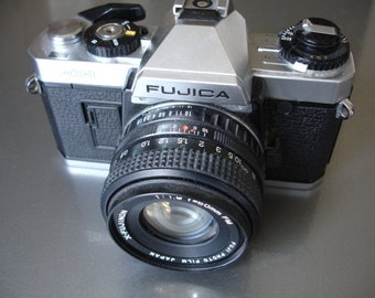 Amazingly Nice Vintage Fujica AX-1  35MM camera- Check out all of our cameras