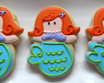 Mermaid cookies 3 dozen
