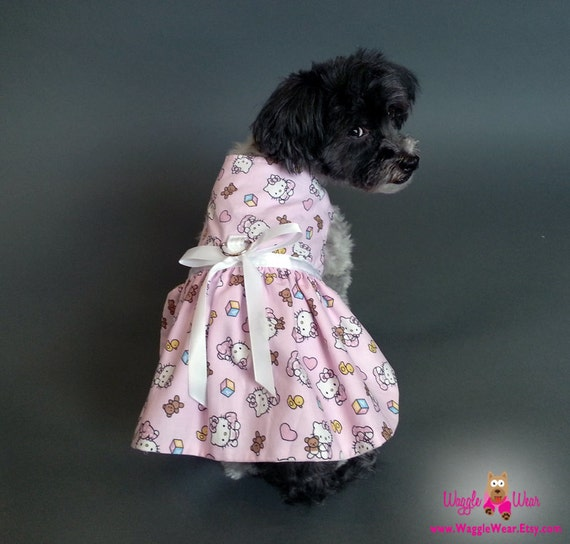 Hello Kitty Dog Harness Dress