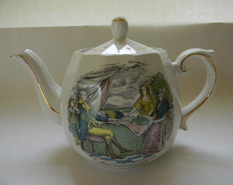 TEAPOT, Vintage ELLGREAVE England Ironstone Teapot