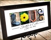 LOVE in color Alphabet Photography, Name Print Perfect for VALENTINES DAY,Print only, unframed
