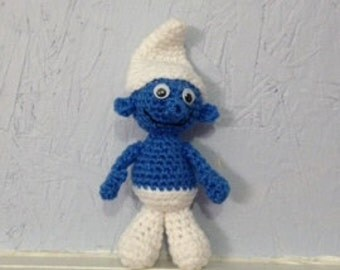 Blue Dude - Stuffed Animal - Amigurumi