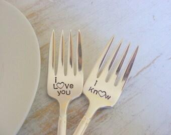 Wedding Forks Star Wars themed Wedding Forks