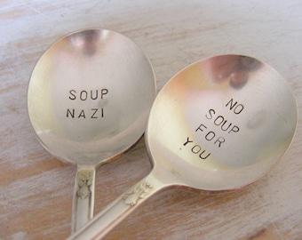 Soup Nazi Spoon Set No Soup For You Soup Spoon Set
