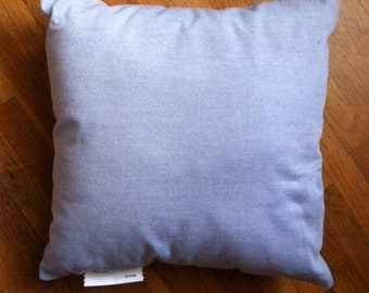 14 x 14  Cotton Chambray pillow or pillow insert for your favorite pillow cover