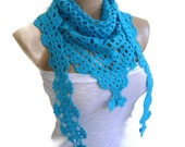 Ready to ship crochet Spiro Disco Ball  scarf,Holiday Accessories, Halloween,mothers day, spring fashion