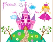 PRINCESS - Clip art for commercial and personal use.