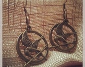 Hunger Games inspired Mockingjay Earrings