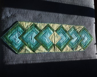 Diamond Quilted Table Runner