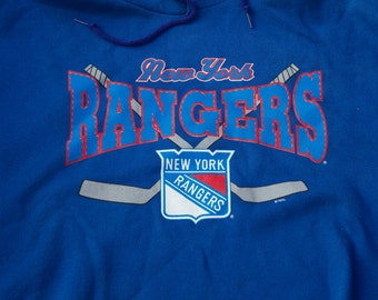 Vintage New York Rangers Hooded Sweatshirt