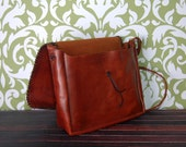 Saddlebag Style Leather P...