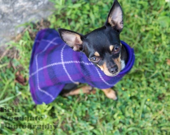 Purple Wool Blend Jacket, Sizes Xsmall, Small & Medium