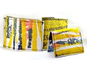 cool recycled plastic bag wallets