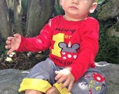 Mickey Mouse Personalized T-shirt