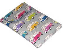 Ipad Mini sleeve Camper van Retro, Splitty Gadget case, VW Camper Tablet Cover, UK Seller